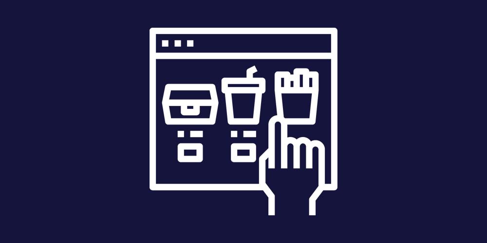 Online menukaart